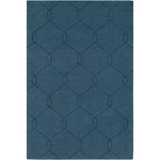 Handmade Dynallae Wool Area Rug - 8' x 10'