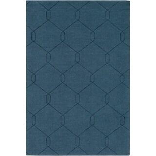Handmade Dynallae Wool Rug-(8' x 10')
