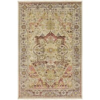Hand-Knotted Bertilda Wool Area Rug (8' x 11')