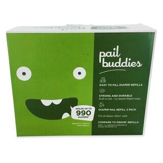 Pail Buddies Diaper Pail Refills Compatible with all Diaper Dekor Classic Diaper Pails (Pack of 2)