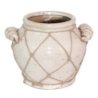 Benzara Ceramic 7.5-inch Vase