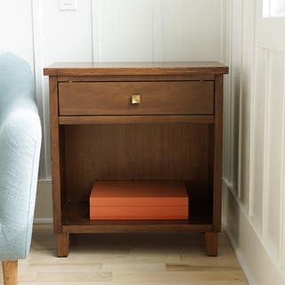 Haven Home Traditional Stratton Walnut Wood End Table by Hives & Honey|https://ak1.ostkcdn.com/images/products/14690679/P21223420.jpg?impolicy=medium
