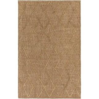 Hand-Woven Kinghorn Jute Rug-(8' x 10')