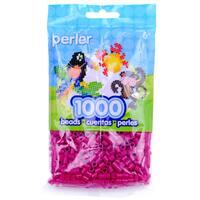 Perler Beads 1,000/Pkg-Raspberry