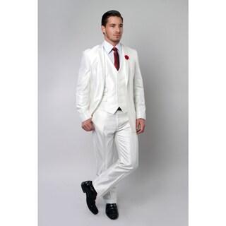 Tazio Men's White 3-piece Suit|https://ak1.ostkcdn.com/images/products/14690873/P21223623.jpg?_ostk_perf_=percv&impolicy=medium