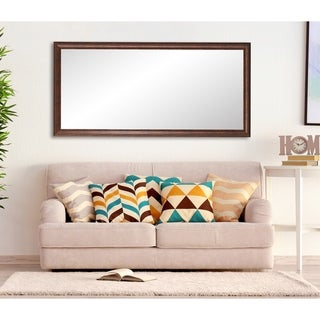Multi Size BrandtWorks Vintage Copper Hill Floor Mirror - Brown