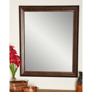 Multi Size BrandtWorks Vintage Copper Hill Wall Mirror - Brown