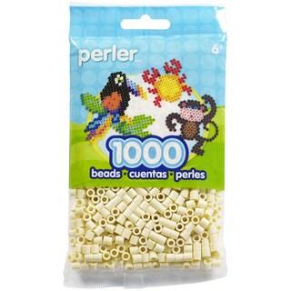Perler Beads 1,000/Pkg-Creme