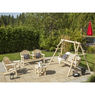 Bestar White Cedar Deluxe 4-Piece Set