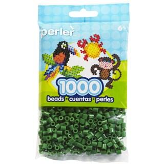 Perler Beads 1,000/Pkg-Dark Green