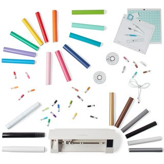 Silhouette Cameo 3 Die Cutting Machine Vinyl & More Tools Bundle