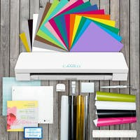 Silhouette Cameo 3 Bluetooth Die Cutting Machine Vinyl Lovers Starter Kit and More Bundle