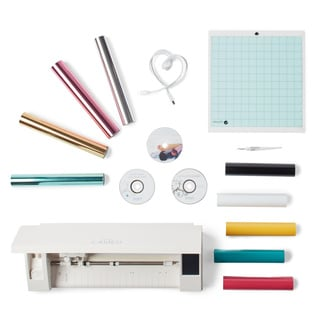 Silhouette Cameo 3 Bluetooth Die Cutting Machine Metallic Heat Transfer Value Starter Kit Bundle