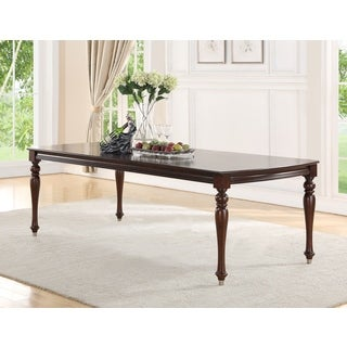 Abbyson Delano Luxury Dining Table