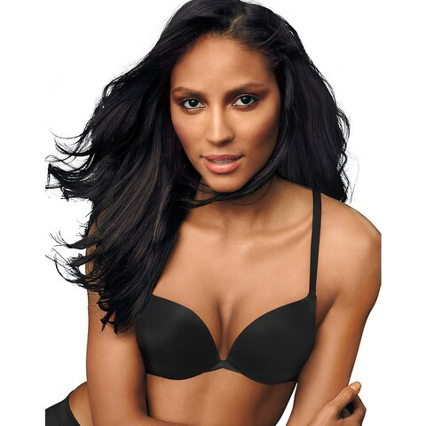 Maidenform Love the Lift Push Up and In Satin Demi Bra