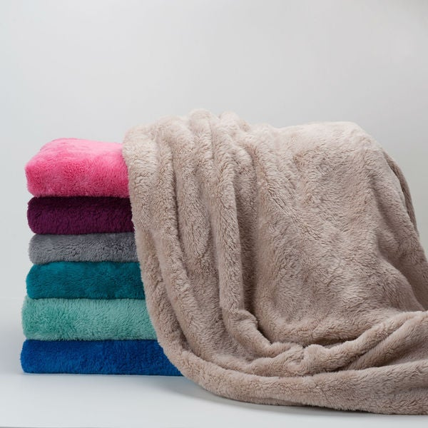 Berkshire Blanket Extra Fluffy Oversized Throw