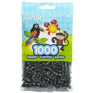 Perler Beads 1,000/Pkg-Dark Gray