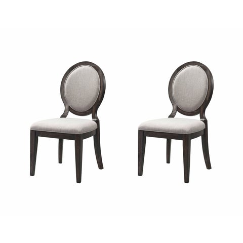 Picket House Furnishings Steele Round Fabric Chair Set