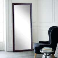 BrandtWorks Burgundy Fair Multi Size Floor Mirror