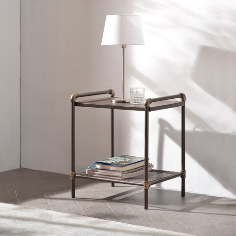 Carbon Loft Meitner Matera Industrial End Table