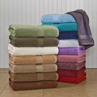 Homestead Textiles 600 GSM Bath Towels (Set of 2) (Option: Amethyst)