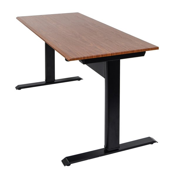 Pneumatic Adjustable Height Standing Desk Free Shipping