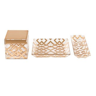 Kate and Laurel Luxe 3 Piece Acrylic Desk Organizer Set|https://ak1.ostkcdn.com/images/products/14691379/P21224100.jpg?impolicy=medium