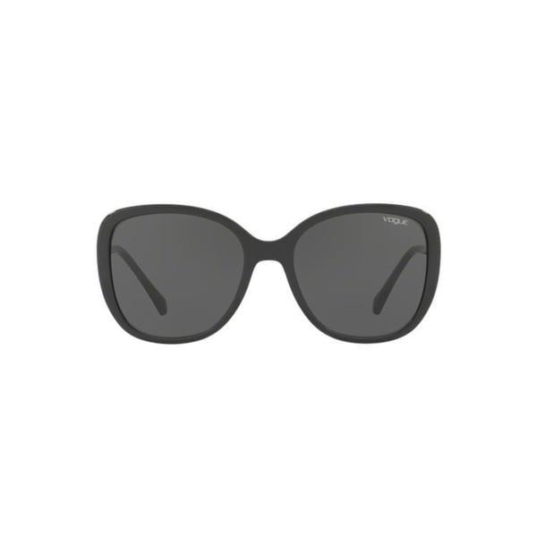74dc46b483 Vogue Women  x27 s VO5154SB W65613 56 Square Plastic Havana Brown Sunglasses