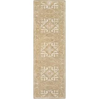 Hand-Tufted Deptford Wool Rug-(2'6 x 8')