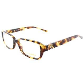 Tory Burch TY 2070 1150 Tokyo Tortoise Plastic Rectangle Eyeglasses 50mm