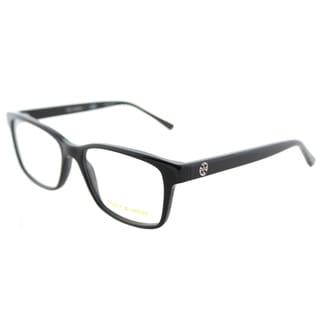 Tory Burch TY 2064 1377 Black Plastic Square Eyeglasses 52mm