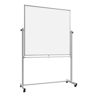 Offex 48 x 48 Double-Sided Magnetic Whiteboard