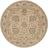 Hand-Tufted Merilis Wool Area Rug - 4' x 4'