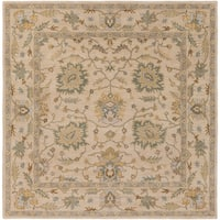 Hand-Tufted Merilis Wool Area Rug - 8' x 8'