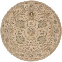Hand-Tufted Merilis Wool Area Rug (9'9 Round)