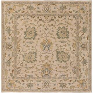 Hand-Tufted Merilis Wool Rug-(9'9 Square)