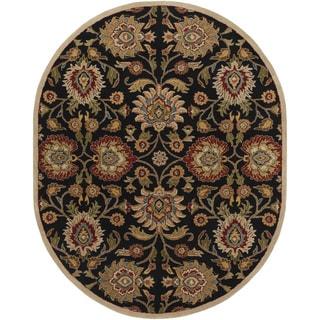 Hand-Tufted Algernon Wool Rug-(6' x 9' Oval)