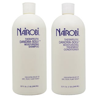 Nairobi Dandra-Solv 32-ounce Shampoo and Conditioner Duo