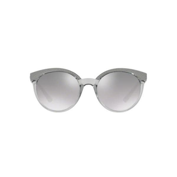 1ed4cced5e0 Versace Women  x27 s VE4330 52074Z 53 Round Metal Plastic Pink Grey  Sunglasses