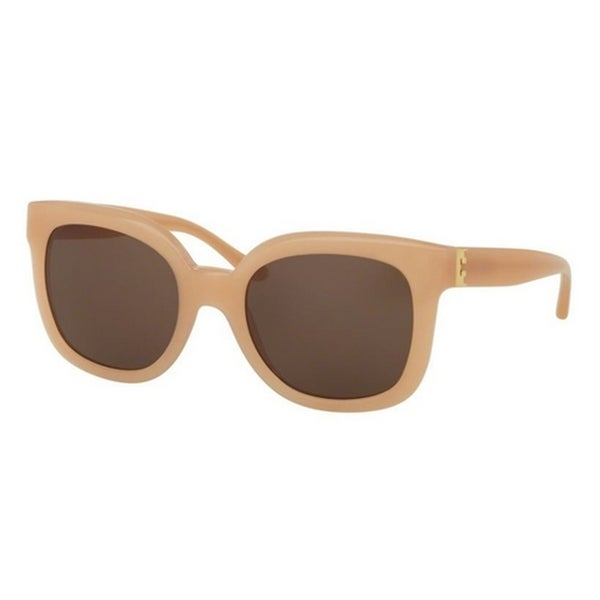 a351f97537d Shop Tory Burch TY7104 Womens Pink Frame Brown Lens Square Sunglasses -  Free Shipping Today - Overstock.com - 14692083