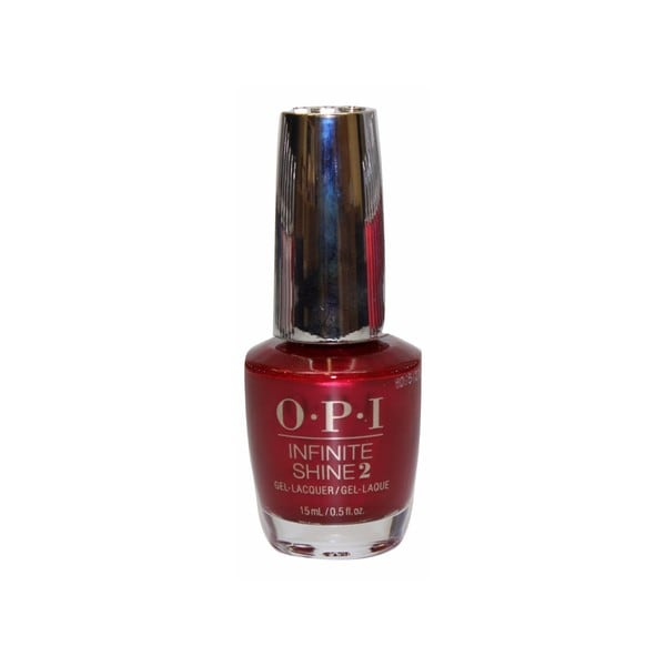 Opi Nail Lacquer Infinite Shine An Affair In Red Square