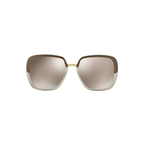 Armani Gold Frame Sunglasses : Emporio Armani Womens EA2045 31674Z 62 Square Metal ...
