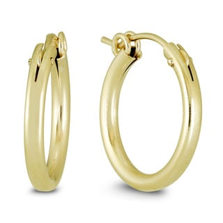 Marquee Jewels 14k Yellow Gold Filled Hoop Earrings (19 MM)
