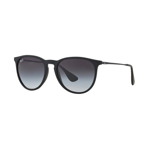 Shop Ray-Ban Women\'s RB4171F 622/8G Black Rubber Frame Grey Gradient ...