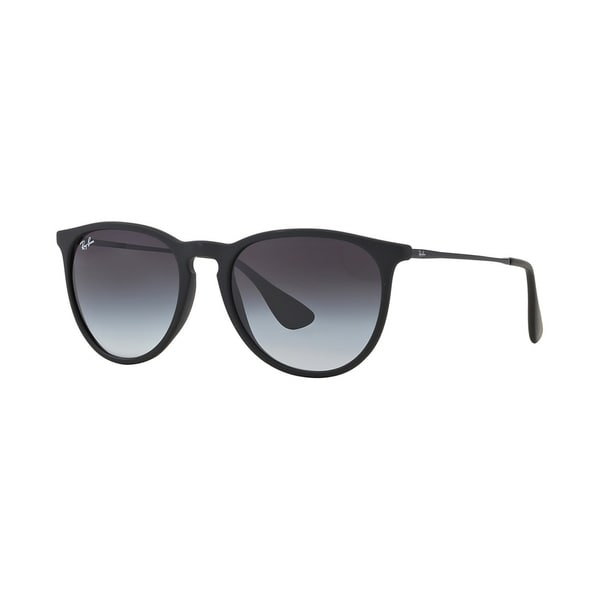 9810cb1102ff2 Shop Ray-Ban Women s RB4171F 622 8G Black Rubber Frame Grey Gradient ...