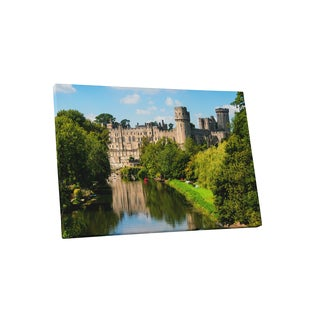 Castles and Cathedrals 'Warwick Castle' Gallery Wrapped Canvas Wall Art