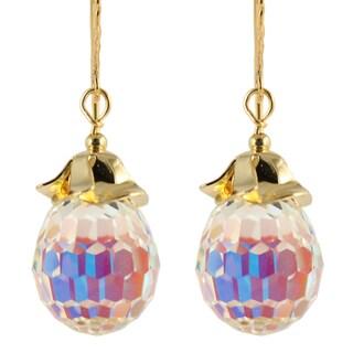 Ardent Designs Hyacinth Crystal Drop Earrings