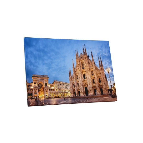 Castles and cathedrals milan cathedral gallery wrapped