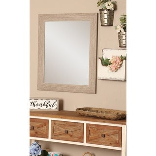 Multi Size BrandtWorks Farmhouse Barnwood Wall Mirror - Brown