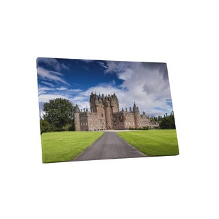 'Glamis Castle in Scotland' Castles and Cathedrals Gallery Wrapped Canvas Wall Art